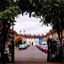 Walking through Ruskin Park, on the way to Brixton