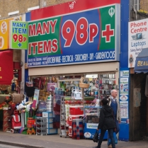 Gaining an edge over the 99p stores. Bertrand competition?