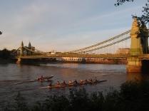 Sunset at Hammersmith Bridge