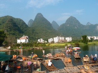 Perfect competition in the bamboo raft market