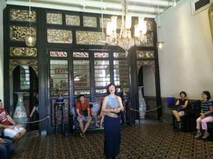 Tour at Cheong Fatt Tze Mansion - I did it many years ago but it's good to have a refresher!